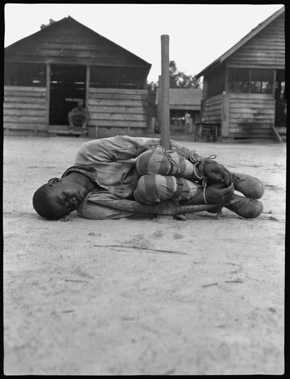 Punishment in a forced labor camp, 1930s, Georgia